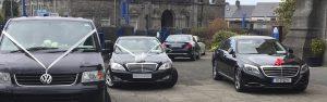 Wedding cars available for Sligo Chauffeur
